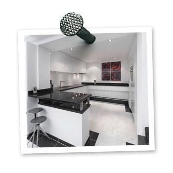 Moderne keuken op maat gemaakt