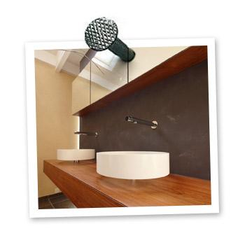 Badkamermeubel op maat gemaakt