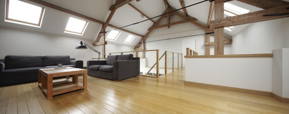 Woonkamer met vide vide in woonkamer mooie woonkamers wooninspiratie - Woonkamer met trap ...