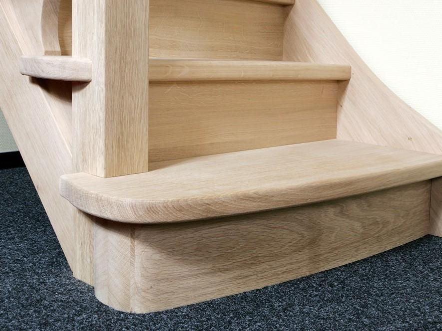 Spiksplinternieuw Nieuwe trappen op maat uitgevoerd door Henk van Leeuwen TT-91